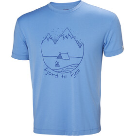 Helly Hansen Skog Graphic Miehet Lyhythihainen paita , sininen